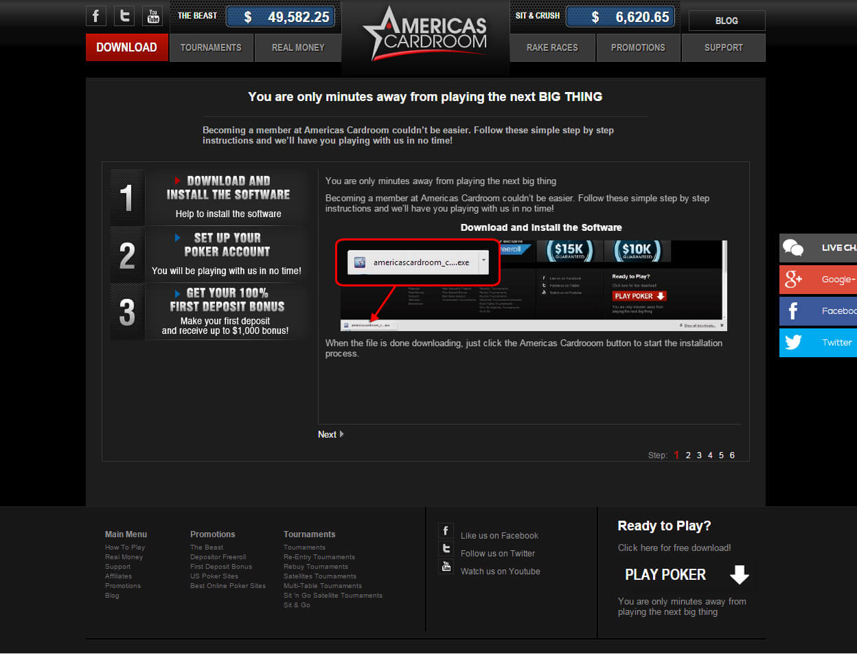 Americas Cardroom Screenshots 3